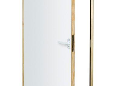 DWT insulated loft eaves storage door
