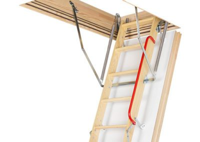 FAKRO LWT insulated timber loft ladder.