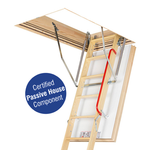 LWT Passive House loft ladder.
