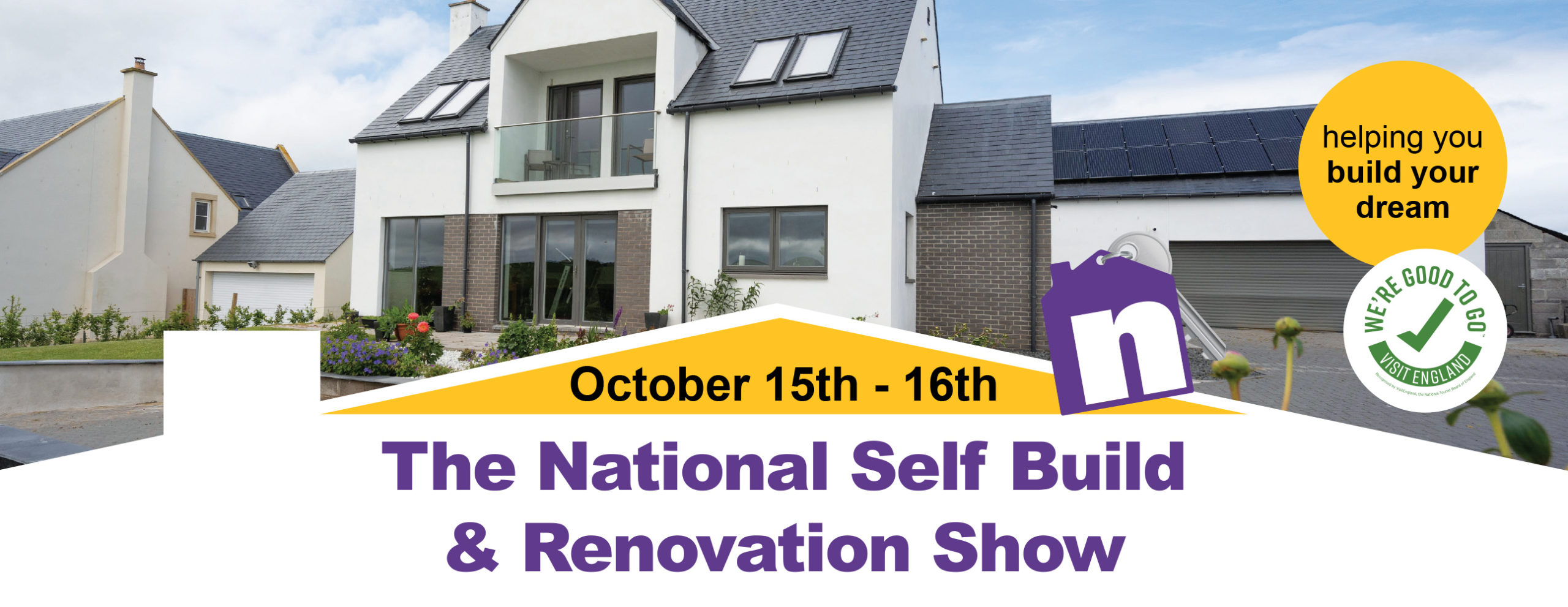 The National Self Build and Renovation Show. October 15th & 16th 2021